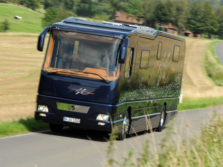 Volkner mobil gmbh mobile travelling with style - Mobil home economicos ...