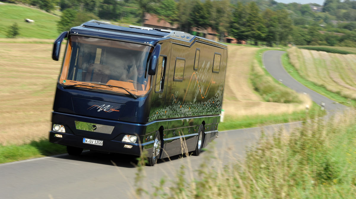 Volkner Mobil GmbH Mobile travelling with style International